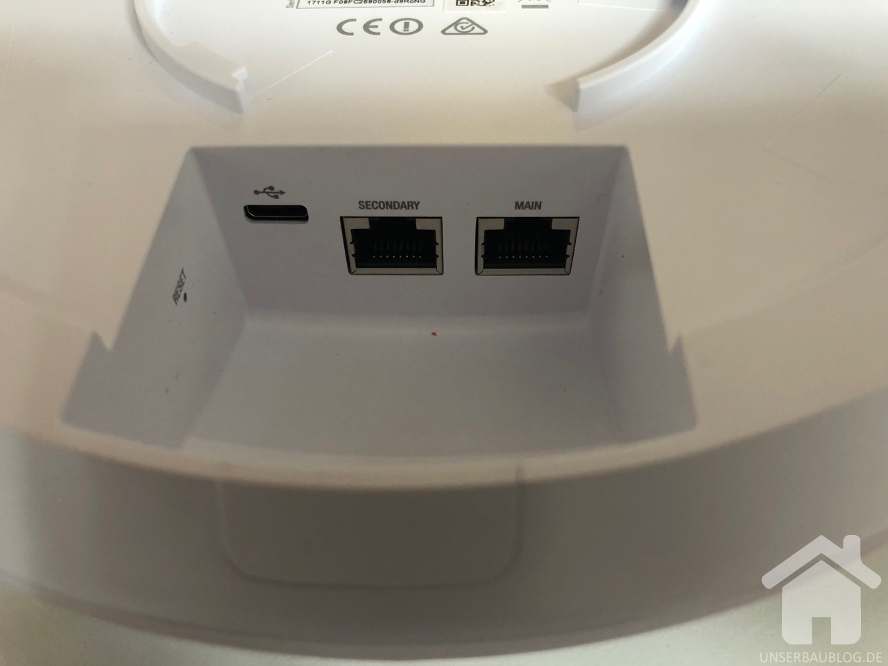 Rückseite UniFi AC HD Access Point